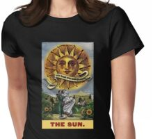 The Sun - Circus Tarot from Duck Soup Productions Womens Fitted T-Shirt