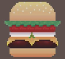 Pixel Krabby Patty V.1 Kids Clothes