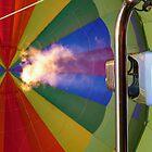 In my beautiful balloon by Akrotiri