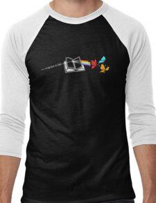 Dark Side of the Reading Rainbow Men's Baseball ¾ T-Shirt