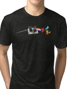 Dark Side of the Reading Rainbow Tri-blend T-Shirt