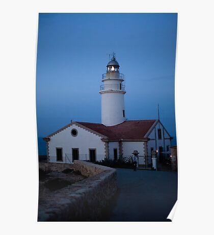 Cala Ratjada's lighthouse Poster