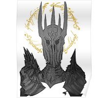 Sauron Black Speech Poster