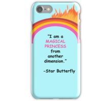 I am a MAGICAL PRINCESS iPhone Case/Skin