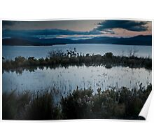 Pond over the Huon River Poster