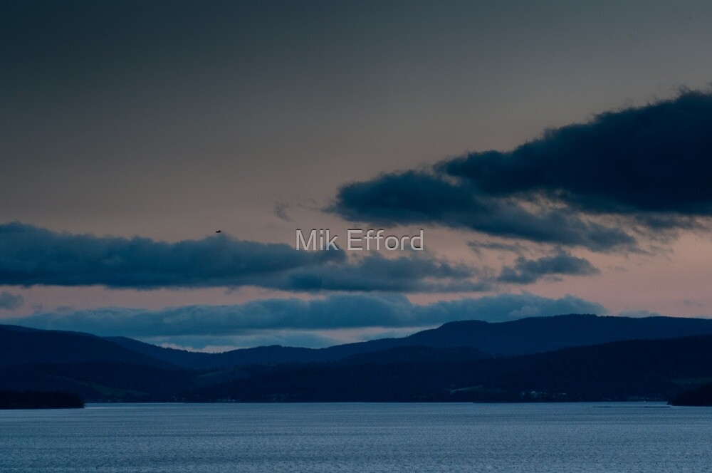 Pre-dawn on the Huon by Mik Efford