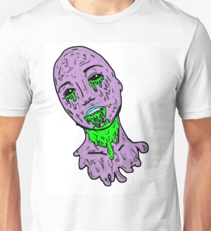 Grunge Zombie Girl Unisex T-Shirt