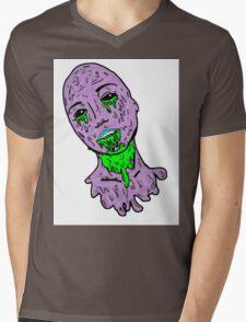 Grunge Zombie Girl Mens V-Neck T-Shirt