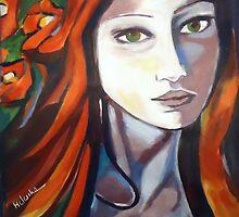 """Pensive Lady"" by Helenka"