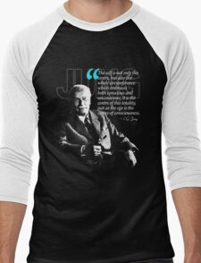 A Quote from Carl Gustav Jung Quote #4 of 50 available Men's Baseball ¾ T-Shirt