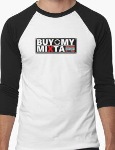 Buy My Mixtape Design Men's Baseball ¾ T-Shirt
