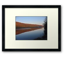 Reflections at Gouthwaite Reservoir Framed Print
