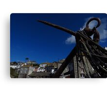 The Anchor, Port Isaac, Cornwall Canvas Print