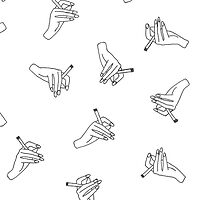 Harry Styles' famous handshirt design  by Kaylah Williams