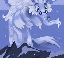 Adorable Snowman by TenguArts