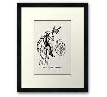 """""""Frightened Rabbit"""" Framed Print"""