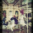 Child's Dream - Antique Carousel, Rome by L. J. Carter