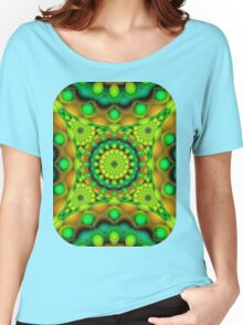Mandala Psychedelic Visions Women's Relaxed Fit T-Shirt