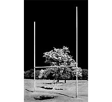 GAA Goalposts in the Phoenix Park, Dublin Photographic Print