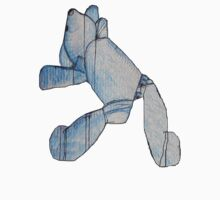 Blue Bear 3 Teddy Bear Drawing by Bel1974