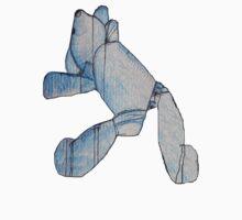 Blue Bear 3 Teddy Bear Drawing Kids Clothes