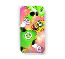 Green Homie latern Samsung Galaxy Case/Skin