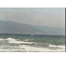 IL MARE .... PIZZOMUNNO -..ITALIA- EUROPA- 1500 VISUALIZZ.2013 ..... Photographic Print