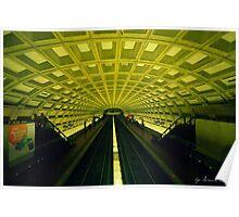 Metro Station Poster
