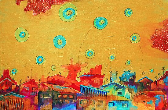 City of Balloons 2 by Carolina  Coto