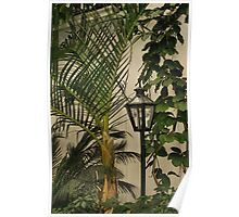 Tropical Lamppost Poster