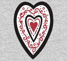 Ben's Heart One Piece - Short Sleeve