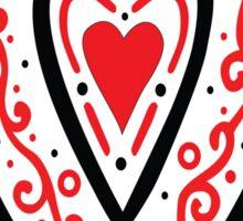 Ben's Heart Sticker