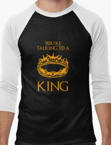 Game of Thrones: The Crown Men's Baseball ¾ T-Shirt
