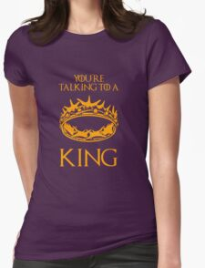 Game of Thrones: The Crown Womens Fitted T-Shirt