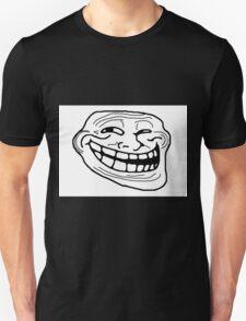 Trollface meme Unisex T-Shirt