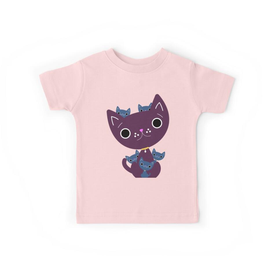Mum and Kittens by MFSdesigns