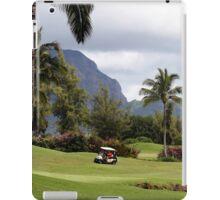 Poipu Bay Golf Course, Kauai, Hawaii iPad Case/Skin