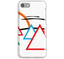 Campsite - Sunrise iPhone Case/Skin