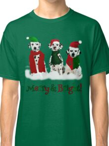 Holiday Snow Dogs!  Classic T-Shirt
