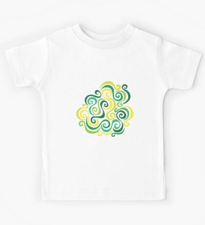 Swirly Emblem Kids Tee