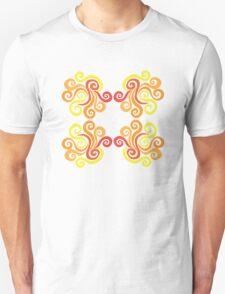 Swirly Fire Unisex T-Shirt