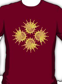 Sun Star Pattern T-Shirt