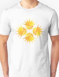 Sun Star Pattern Unisex T-Shirt