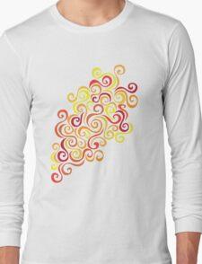 Firery Curlicules Long Sleeve T-Shirt