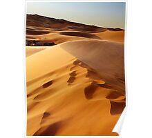 Desert Tents Poster