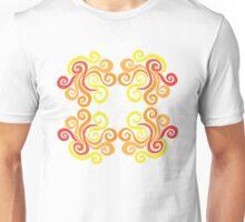 Firery Swirls Unisex T-Shirt