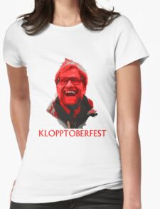 Klopptoberfest Womens Fitted T-Shirt
