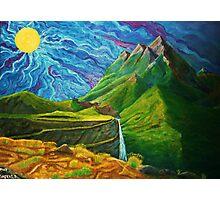 Mountain Range Photographic Print