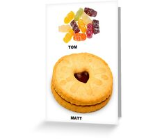 The Doctor, Who Needed Food Greeting Card