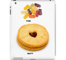 The Doctor, Who Needed Food iPad Case/Skin